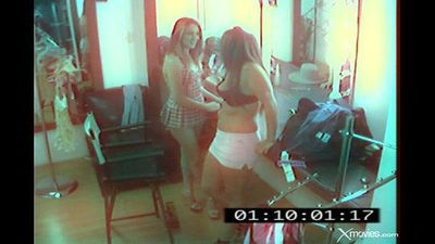 Hidden Cam :Two Sexy Lesbians Caught Fucking - 7 min