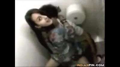 Spying On School Students Fucking On A Toilet - 1 min 24 sec