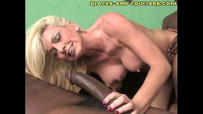 Granny Fucks Young Dark Rods - 3 min