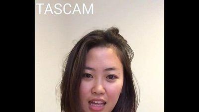 asian girl show natural tits - 20 sec