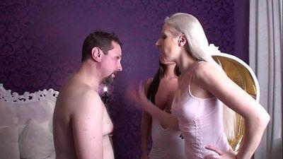 Face slapping sadistic glamour girls - 1 min 30 sec