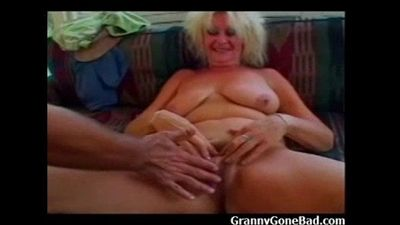 Naughty Old Grandma - 2 min