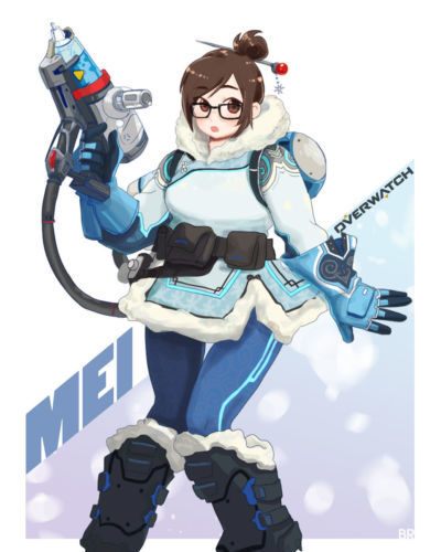 Overwatch - Mei-Ling Zhou - part 7