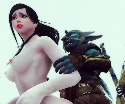 Monster Hentai - The Riekling Tribes Fury - Skyrim