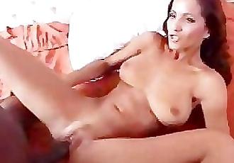 Angel likes black cock