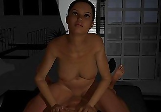 3D anime apartment fucking with friends - 5 min HD