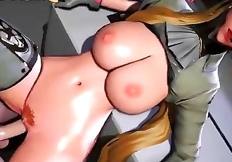 Huge tits riding on cock in best 3d porn game