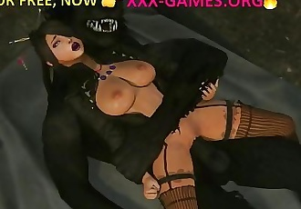 Hard sex with werewolf in xxx game