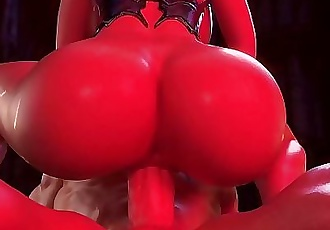 Princess Mary Riding Big Cock in 3d porn game 1 min 12 sec HD