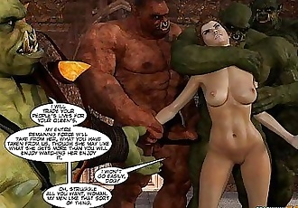3D Comic: Lands of Lore. Episode 5 - 9 min HD