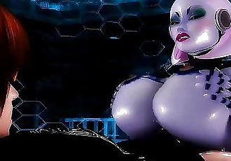 Guy FUCKS His Personal Robo Sluts Phat Ass & HUGE TittysRobot Porn 11 min HD+