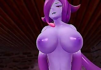 Monster Girl Island: Demon Slime Eris Gets Fucked 19 min HD