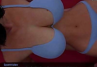 Hot stepmom with big boobs and a nice fit ass public place footjob and blowjob l My sexiest gameplay moments l Milfy..