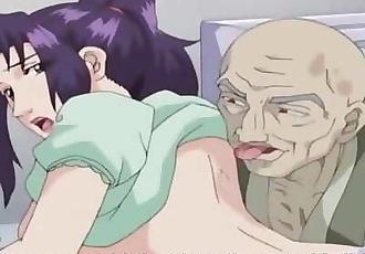 Big Boobs Anime Mother Threesome