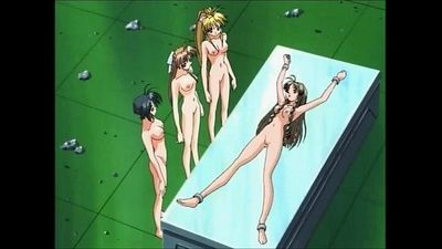 Hentai Lesbian 4way - 3 min