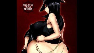 Untimely Flowering - One Piece Extreme Erotic Manga Slideshow - 3 min
