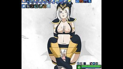 Ashe Fucking - League of legends Hentai - 9 min