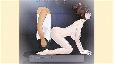 Overwatch Mei Porn/Hentai Super Deepthroat - 13 min