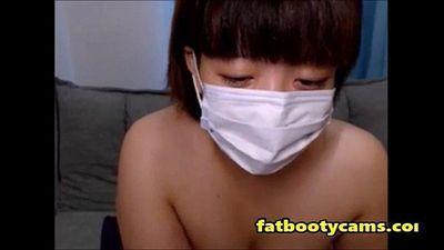 Пухлые японский приклад на Кэм - fatbootycamscom - 9 мин