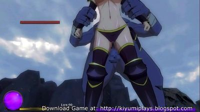 Kiyumi Plays Elf Knight Giselle Stage Two - 15 min