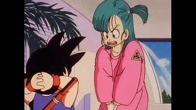 Bulma meets the master Roshi and shows her pussy - 6 min