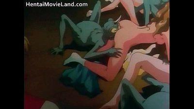 Amazing anime movie with sucking stiff - 6 min