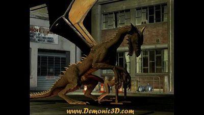 Dragon fucks elf - 32 sec