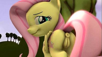 Fluttershy Walking - 12 sec