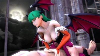 Marvel vs Capcom 3 Morrigan Aensland Hentai - 6 min