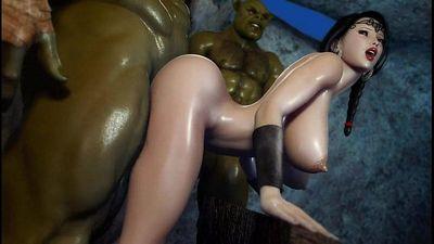 Hardcore-3D-Hentai-Secret-Of-Beauty-Orc-Ritual--HD-720p - 14 min
