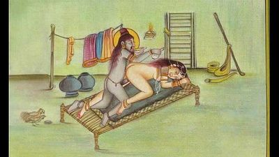 Kamasutra Erotic Paintings of Ancient India Adult Video Nude Pics - 12 min