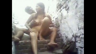 Desi Village girl Madhuri Foursome group sex - 18 min
