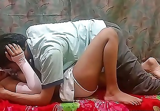 Slutty Indian Teen Sarika Sleeping Sex With Her Brother Vikki 7 min 720p
