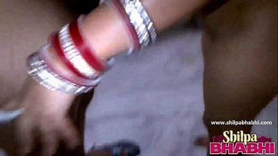 Shilpa Sexy Indian Married Wife Masturbating Fucking Doggy Style - 1 min 20 sec HD