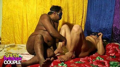 South Indian Couple Hardcore Sex In Bedroom - 50 sec HD