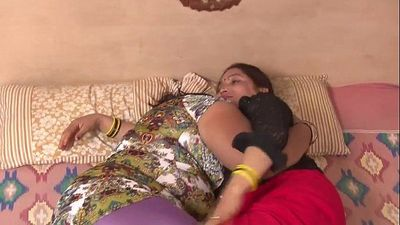 Indian aunties making out - 4 min