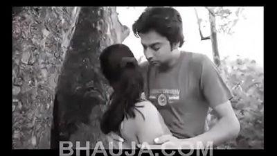 Indian Girl Desi Romance in Jungle - 9 min