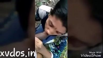 Indian aunty sucking and fucking outdore - 7 min