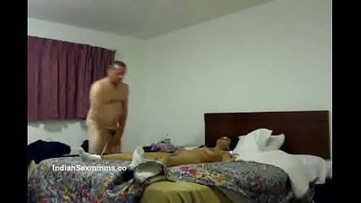 Indian aunt tieup fucked by britisher - IndianSexMms.Co - 4 min