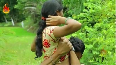 Sexy Indian desi girl fucking romance outdoor sex - 9 min