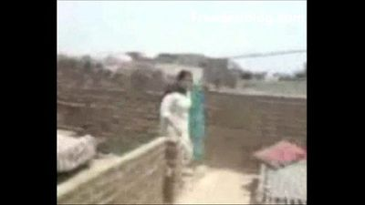 Boy Fuck His Maami On Terrace MMS SCANDAL-2 - 3 min