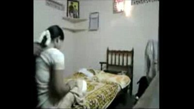 Tamil Matured Bhavi With Long Hair Entertaining - 4 min