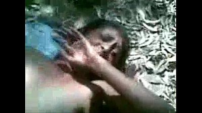 Desi village couple fucking outdoor - 5 min
