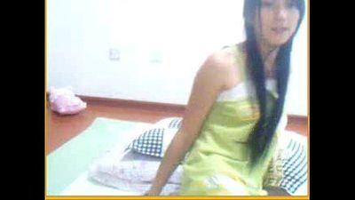 Innocent teen asian dancing and fingering on cam - xxxcamgirls.net - 15 min