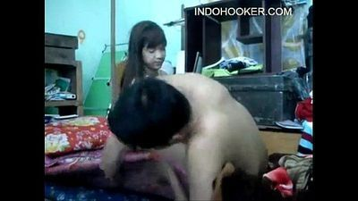Indonesian scandal Teen having sex at their first date - 11 min