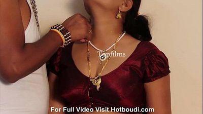 Desi Mallu Aunty First Night New Telugu Masala Short Movie 2016 - 13 min