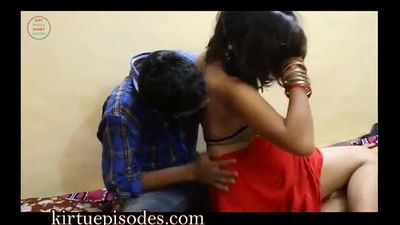 Indian Girl Getting Satisfied With Salesman - 10 min
