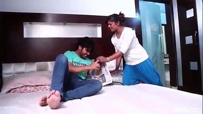 Indian Desi bhabi with dever at bedroom.MP4 - 11 min