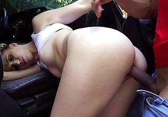 Naughty Sierra Nicole Fucks The Car Wash Man HD