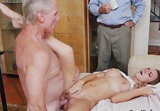 Teen Molly Mae Gets Fucked Hard By Old Man